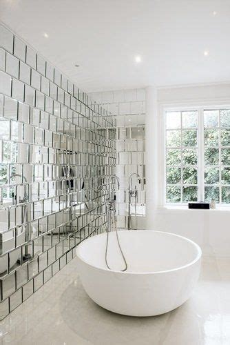 Mirrored Bathroom Wall Tiles by Best 25 Mirror Tiles Ideas On Bars