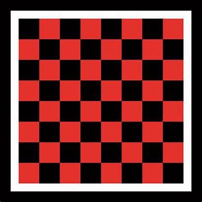 Board Printable Checkers Checkerboard Pieces Template Printablee
