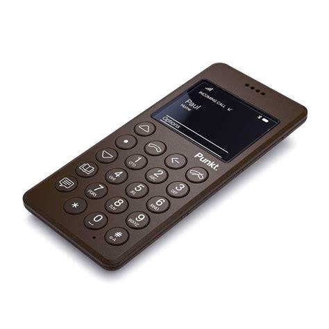 Mobile Phone by Punkt Jasper Morrison Mp 01 Mobile Phone Brown Panik
