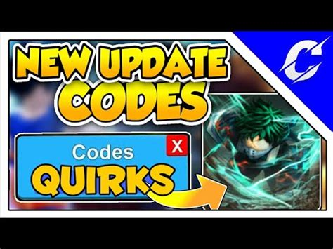 codes  update quirks anime fighting