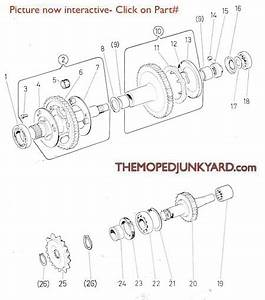 Puch Transmission Parts 1  U0026 2 Speed  6 Subcategories