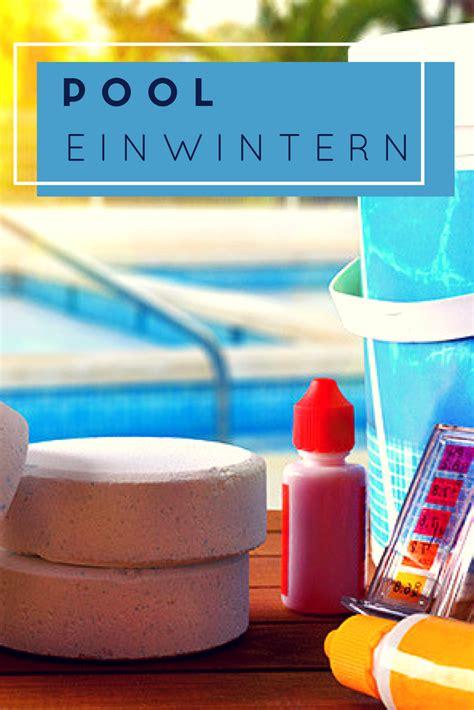 Garten Pool Winterfest Machen by Pool Winterfest Machen Magazin Garten Und Freizeit