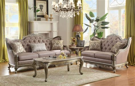 homelegance   fiorella formal living room set