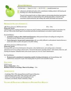 example of resume format for teacher free homeroom teacher With free education resume templates