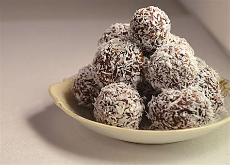 jillyinspired dark chocolate truffles  coconut