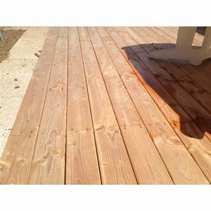 Prix Terrasse Bois : lame terrasse 28x145 premium douglas hors aubier lisse ~ Edinachiropracticcenter.com Idées de Décoration