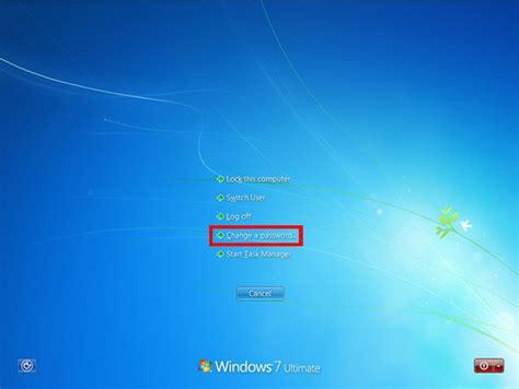 como mudar rapidamente uma senha de usuario  windows