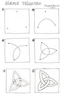 How to Draw a Triquetra Step by Step