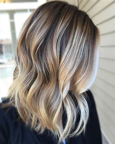 Ombre Colored Short Hairstyles For Summer 2018 2019