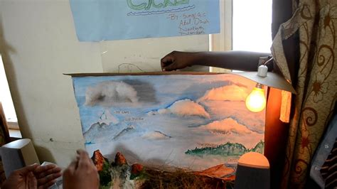 water cycle science project youtube