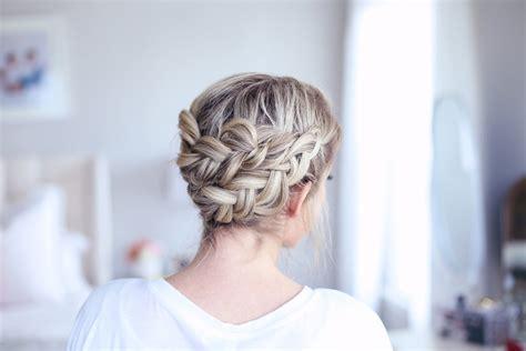 easy twist styles for hair easy diy crown braid hairstyles 8131