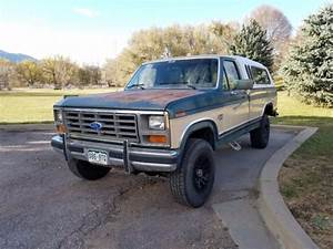 1986 Ford F250 6 9 Liter Diesel 4x4 Truck For Sale