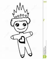 Crone Prince Heart Toy Illustration Vector Quotes Smile Coloring sketch template