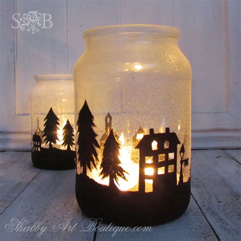 jar christmas candle holder it s no secret women love candles shabby art boutique bloglovin