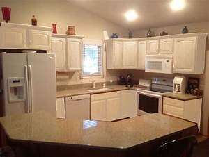 kitchen cabinets leave honey oak or paint white mocked With kitchen colors with white cabinets with peace symbol wall art