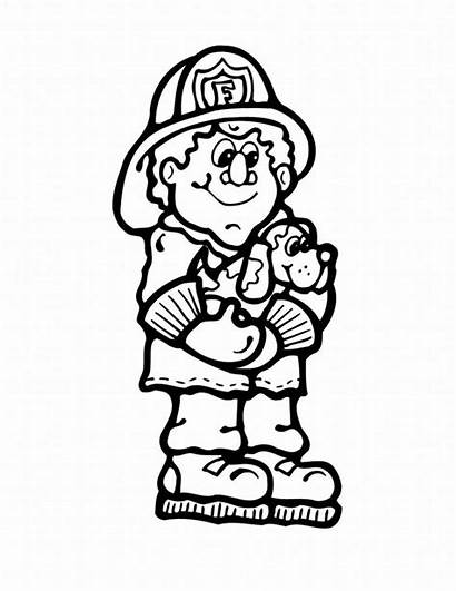 Coloring Fire Safety Feuer Ausmalbilder Printable Truck