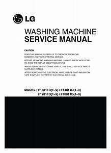 Lg F1681td Service Manual