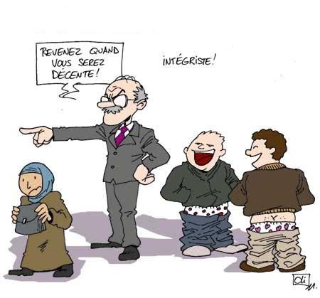 les profs de religion islamique pourront porter le voile
