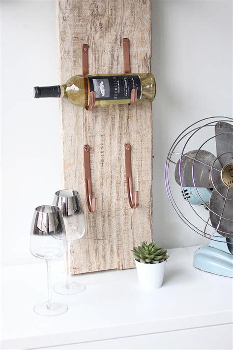 diy barn wood wine rack