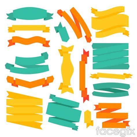 Yellow Brochure Design Vector Millions Vectors Green Yellow Orange Ribbons To Design Vector
