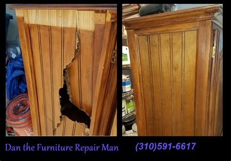 Cabinet Repair Los Angeles by Repaired Damaged Cabinet In West Los Angeles Ca