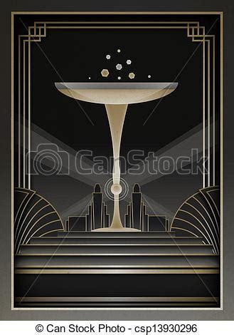 deco graphic designers illustration de cadre deco fond deco inspir 233 fond csp13930296 recherchez