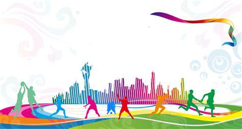 sports carnival celebration gradient background sports