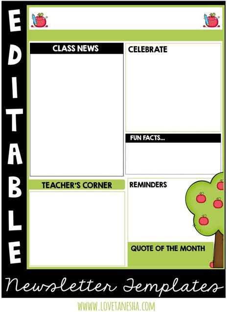 Free Newsletter Templates For Teachers by 17 Best Ideas About Preschool Newsletter Templates On