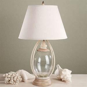 Sea, Treasures, Fillable, Glass, Table, Lamp