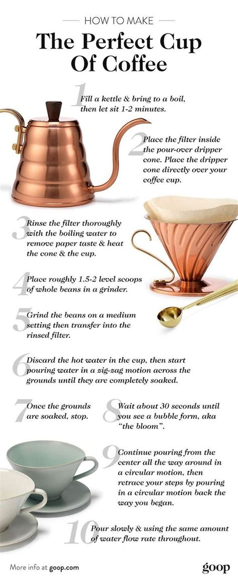 Granted, learning how to use a coffee percolator to make a perfect cup of coffee is really difficult. How to Make the Perfect Cup of Coffee | Coffee recipes, Perfect cup, Coffee
