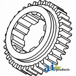 70232532 1st  U0026 2nd Mainshaft Gear Fits Allis