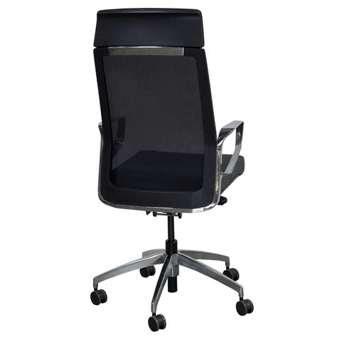 maris by gosit leather and mesh high back conference chair black national office interiors
