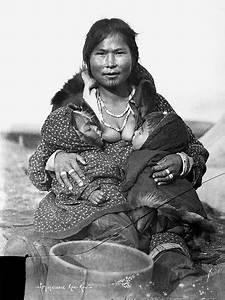 Inuit woman nursing twins | Flickr - Photo Sharing!