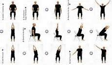exercise for seniors on chair exercises image and exerci
