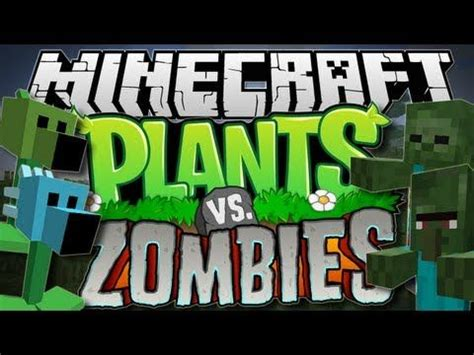 minecraft plants  zombies pea shooters galore