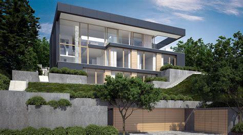 Moderne Häuser Stuttgart projekt haus am hang stuttgart architekten bda fuchs