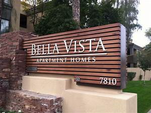 1000 images about monument signs on pinterest shopping With exterior wooden sign letters