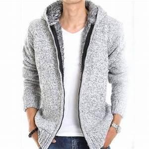 Veste En Laine Homme : veste capuche fashion esprit gilet chaud homme fourrure ~ Carolinahurricanesstore.com Idées de Décoration