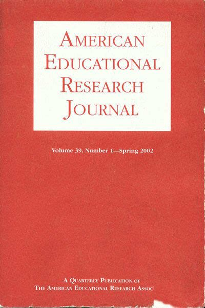 american educational research journal vol  spring