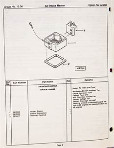 Intake Heater Wiring Diagram Question Dodge Sel  Dodge  Auto Parts Catalog And Diagram