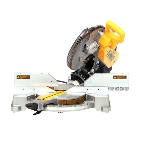 Dewalt 15 Amp 12 In Doublebevel Compound Miter Sawdw716