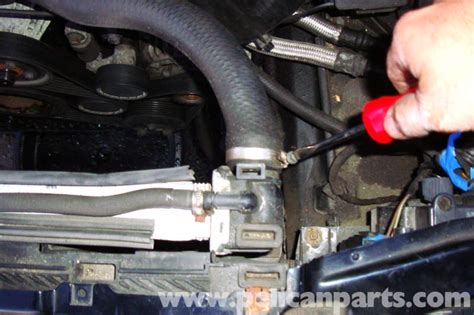 bmw   series radiator replacement