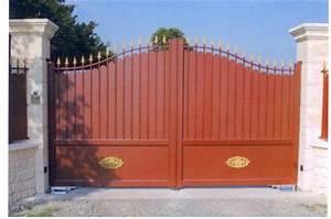Comment Poser Un Portail : portail porte et portail ~ Premium-room.com Idées de Décoration
