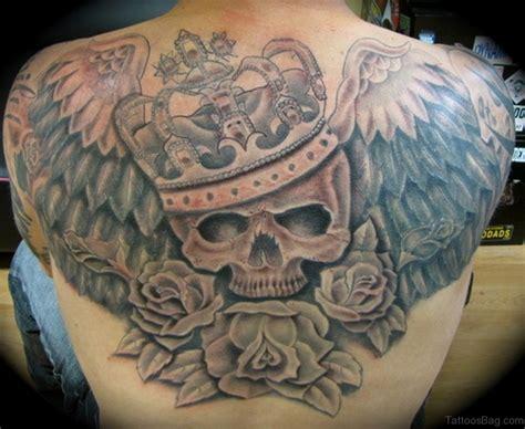 80 Good Looking Skull Tattoos On Upper Back