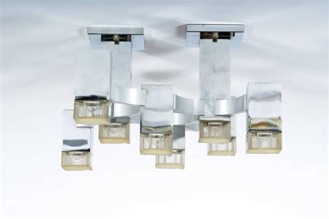 eight lights wall light or flush mounted by sciolari