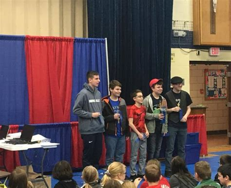 holy catholic school grade team wins stem competition