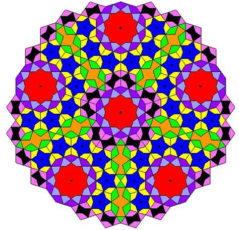 girih tiles mathematical model 180 best images about islamic tile works on