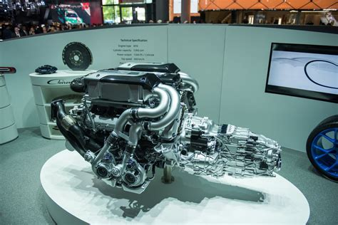 What Type Of Engine Does A Bugatti by Bugatti Looks To A Hybrid Future Contemplates More Power