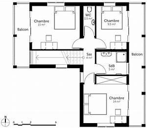 plan maison a etage moderne ventana blog With beautiful plan de maison 2 etage 2 maison contemporaine 12 detail du plan de maison
