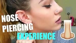 I Got A Nose Piercing    Pain  Pricing  Healing